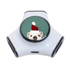 Santa Dog 3 Port Usb Hub