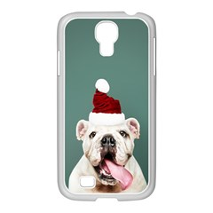Santa Dog Samsung Galaxy S4 I9500/ I9505 Case (white)