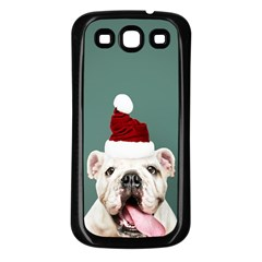 Santa Dog Samsung Galaxy S3 Back Case (black)
