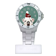 Santa Dog Plastic Nurses Watch
