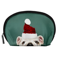 Santa Dog Accessory Pouch (large)