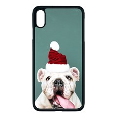Santa Dog Iphone Xs Max Seamless Case (black)