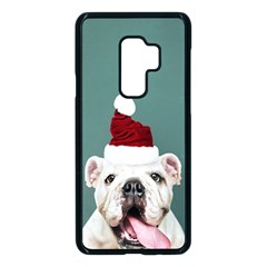 Santa Dog Samsung Galaxy S9 Plus Seamless Case(black)