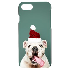 Santa Dog Iphone 7/8 Black Uv Print Case