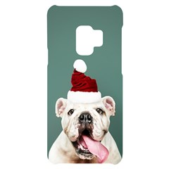 Santa Dog Samsung S9 Black Uv Print Case
