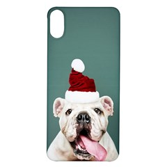 Santa Dog Iphone X/xs Soft Bumper Uv Case
