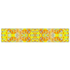 Vivid Warm Ornate Pattern Small Flano Scarf by dflcprintsclothing