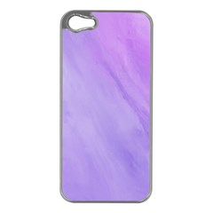 Purple Shade Iphone 5 Case (silver)