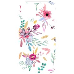 Pink Floral Print Iphone 11 Pro Black Uv Print Case