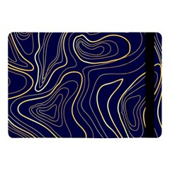 Golden Lines Pattern Apple Ipad Pro 10 5   Flip Case by designsbymallika