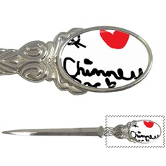I Heart Chimney Rock Letter Opener by Majesticmountain