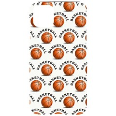 Orange Basketballs Iphone 11 Pro Max Black Uv Print Case by mccallacoulturesports