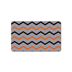 Basketball Thin Chevron Magnet (name Card) by mccallacoulturesports