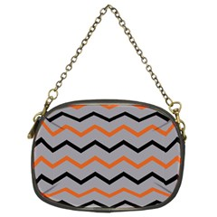 Basketball Thin Chevron Chain Purse (two Sides) by mccallacoulturesports