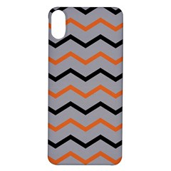 Basketball Thin Chevron Iphone X/xs Soft Bumper Uv Case by mccallacoulturesports