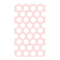 Pink And White Polka Dots Memory Card Reader (rectangular) by mccallacoulture