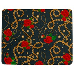 Golden Chain Pattern With Roses Jigsaw Puzzle Photo Stand (rectangular)