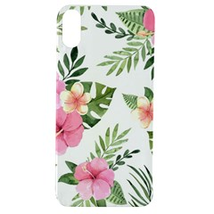 Pink Tulips Apple Iphone Xs Tpu Uv Case