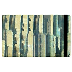 Texture Abstract Buildings Apple Ipad 2 Flip Case