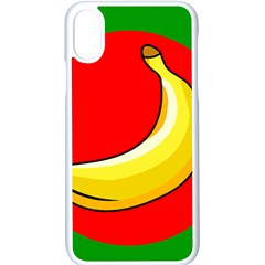 Banana Republic Flags Yellow Red Iphone X Seamless Case (white)