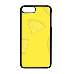 Yellow Pineapple Background Iphone 8 Plus Seamless Case (black)