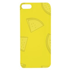 Yellow Pineapple Background Apple Iphone 7/8 Tpu Uv Case
