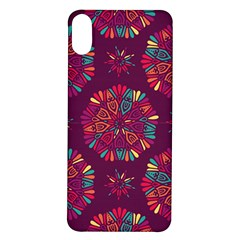 Circle Pattern Iphone X/xs Soft Bumper Uv Case by designsbymallika