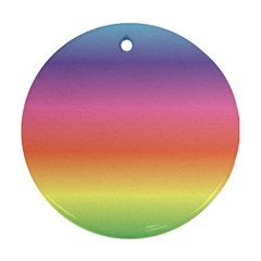 Rainbow Shades Ornament (round)