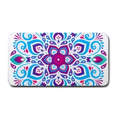 Mandala Blue Medium Bar Mats