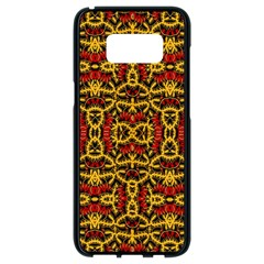 Rby 90 Samsung Galaxy S8 Black Seamless Case by ArtworkByPatrick