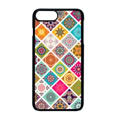 Ethnic Mandala Pattern Iphone 8 Plus Seamless Case (black)