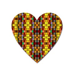 Ab 129 Heart Magnet by ArtworkByPatrick