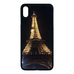 Tour Eiffel Paris Nuit Iphone Xs Max Seamless Case (black) by kcreatif