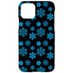Snowflakes Pattern Iphone 11 Pro Black Uv Print Case