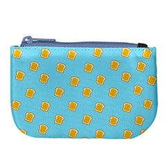 I Love Bread Large Coin Purse