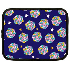 Cube Pattern Netbook Case (xl) by designsbymallika