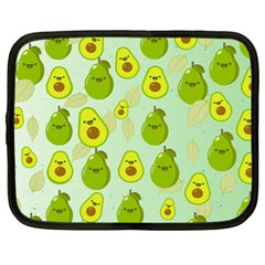 Avocado Love Netbook Case (large) by designsbymallika