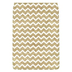 Gold Glitter Chevron Removable Flap Cover (s) by mccallacoulture