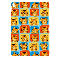 Cute Tiger Pattern Apple Ipad Pro 10 5   Black Uv Print Case by designsbymallika