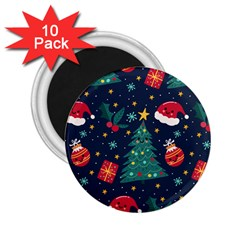 Christmas  2 25  Magnets (10 Pack)