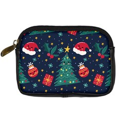 Christmas  Digital Camera Leather Case