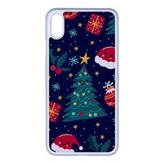 Christmas  Iphone Xs Max Seamless Case (white)