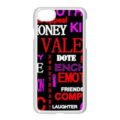 Love Friendship Friends Heart Iphone 7 Seamless Case (white)
