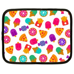 Candies Are Love Netbook Case (xl) by designsbymallika