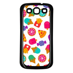 Candies Are Love Samsung Galaxy S3 Back Case (black) by designsbymallika