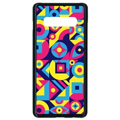 Doodle Pattern Samsung Galaxy S10 Plus Seamless Case (black) by designsbymallika