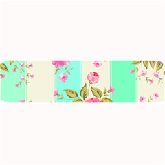 Stripes Floral Print Large Bar Mats by designsbymallika