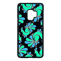 Peacock Pattern Samsung Galaxy S9 Seamless Case(black)