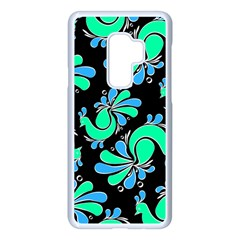 Peacock Pattern Samsung Galaxy S9 Plus Seamless Case(white)