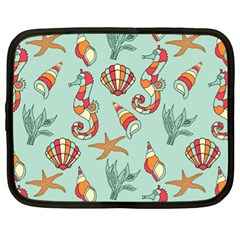 Coral Love Netbook Case (xl)